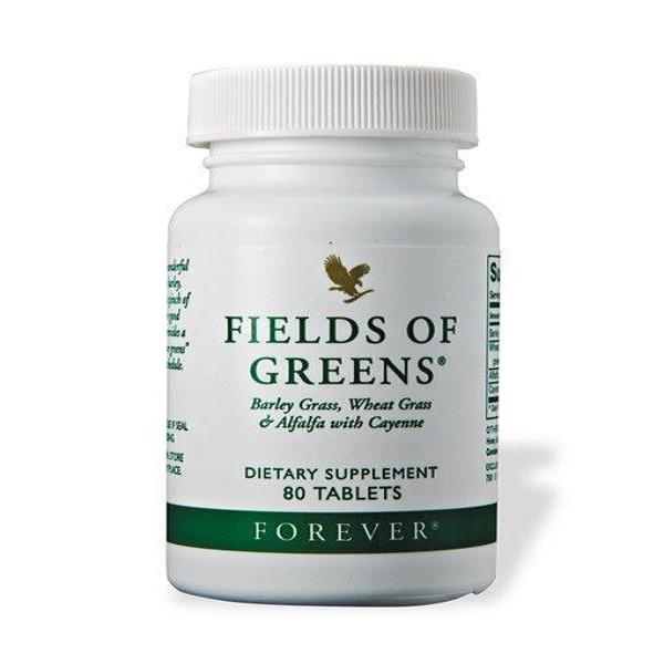 فوريفر فيلدز أوف جرينز (الحقول الخضراء) – بديل السلطات لمن لايتناولها، الحصّة اليوميّة التي يُنصح بها من الأطعمة الخضراء الطازجة!
