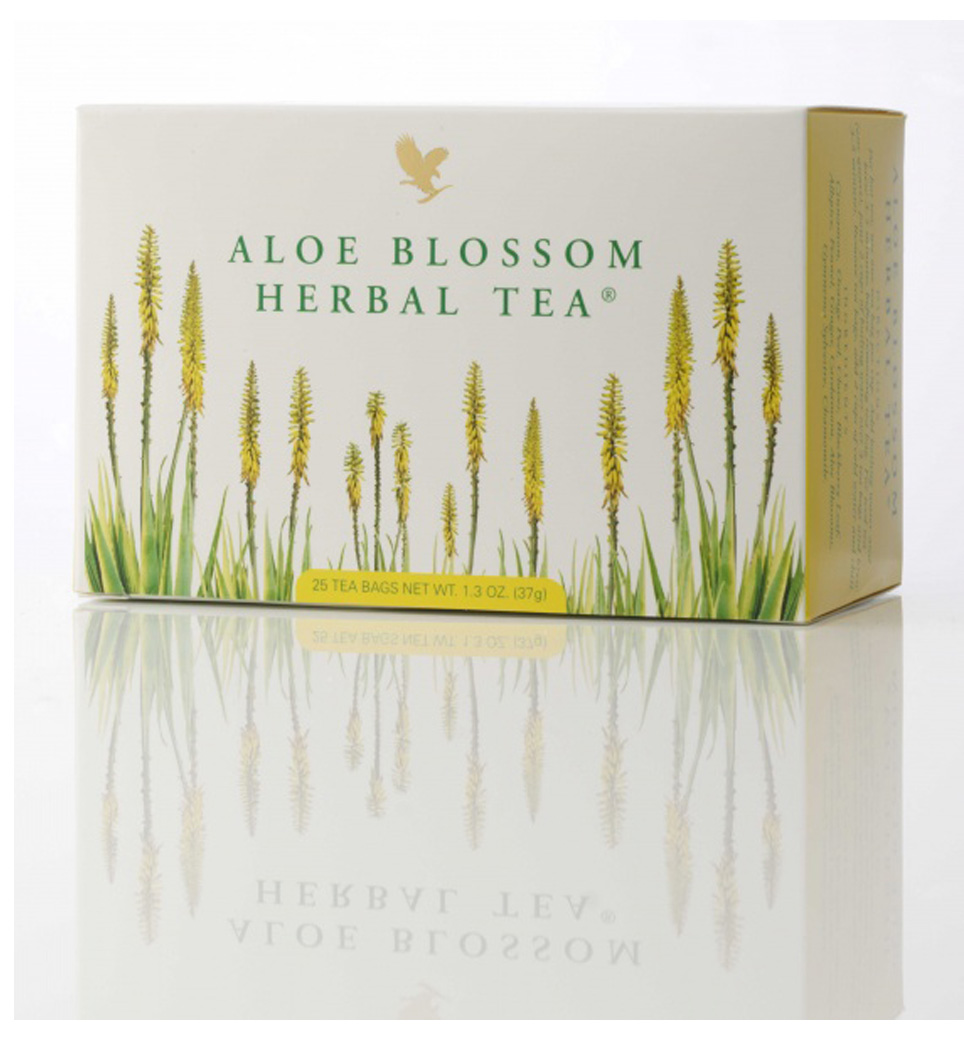 ألو بلوسوم هيربال تي – شاي طبيعي مع توليفة من أفضل المكونات لرشاقة وحيوية