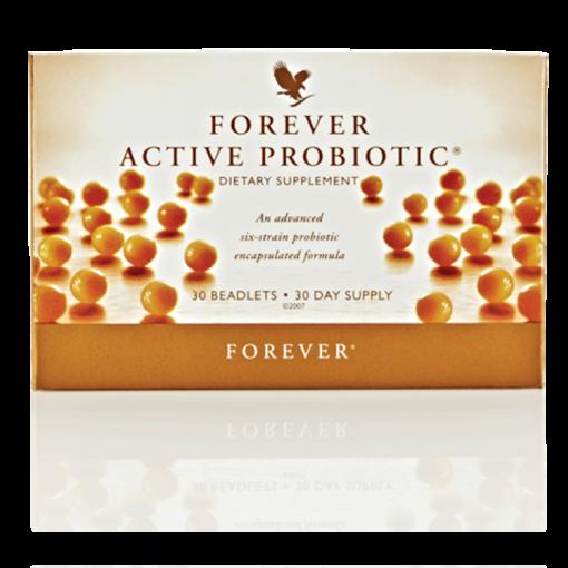 فوريفر أكتيف بروبيوتيك – ستة أنواع من بكتيريا البروبيوتيك لتعزيز صحة الجهاز الهضمي وتحسين امتصاص العناصر الغذائية ودعم وظائف الجهاز المناعي!