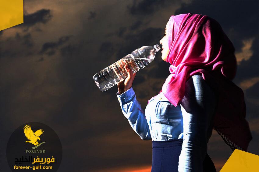 الحرص على شرب الماء