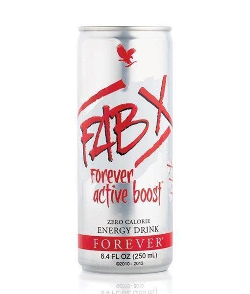فاب إكس فوريفر أكتيف بوست – مشروب طاقة خالي من السكريات والسعرات حرارية!