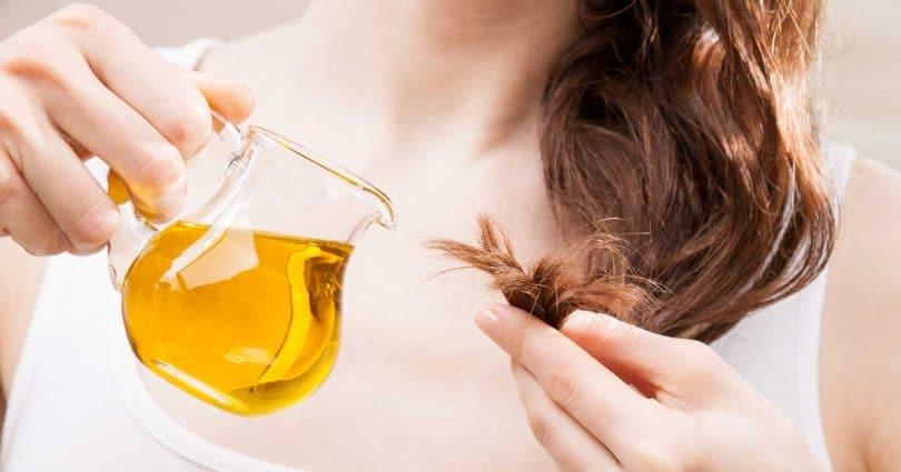 زيوت الشعر الطبيعية للعناية بالشعر