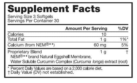 القيمة الغذائية لكبسولات فوريفر موف