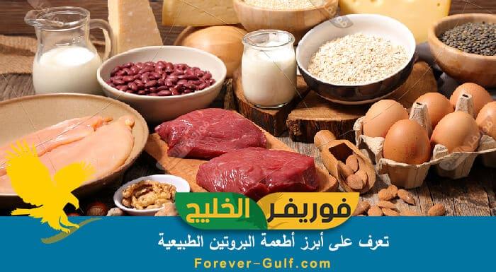 أطعة البروتين