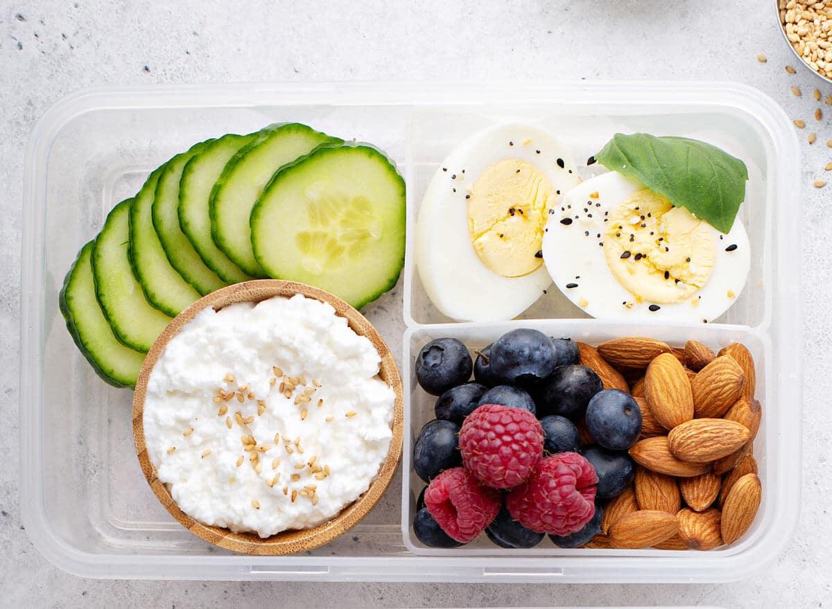 تناول أطعمة البروتين على الإفطار