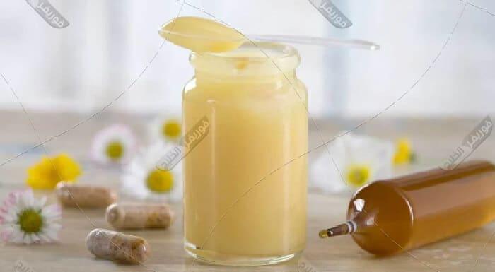رويال جيلي غذاء ملكات النحل
