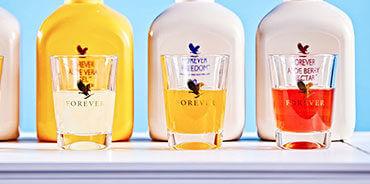 مشروبات ألوفيرا جل من فوريفر